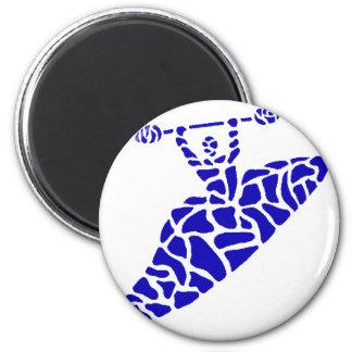 Kayak Kaintuck Waters 6 Cm Round Magnet