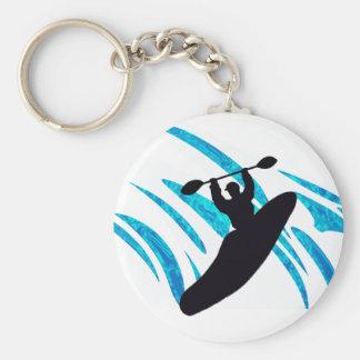 Kayak Kayaker Kayaking Key Ring