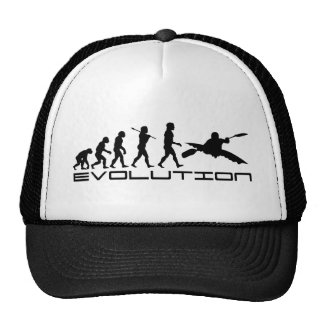 Kayak Kayaking Water Sport Evolution Art Cap
