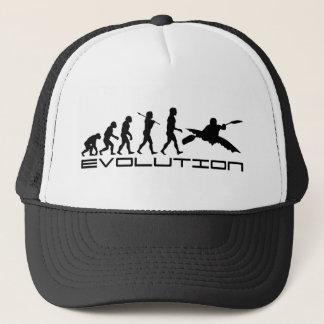 Kayak Kayaking Water Sport Evolution Art Trucker Hat
