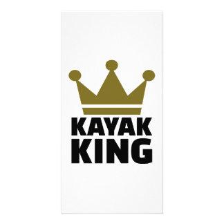 Kayak King Customized Photo Card