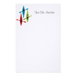 Kayak letterhead