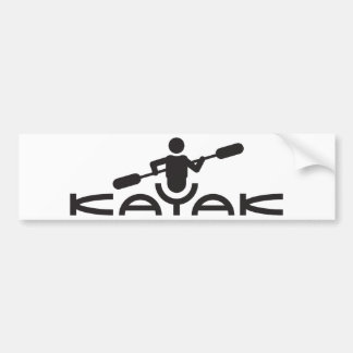 Kayak Logo Bumper Sticker
