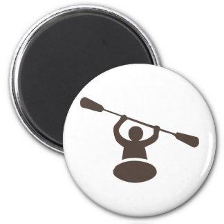 Kayak Fridge Magnet