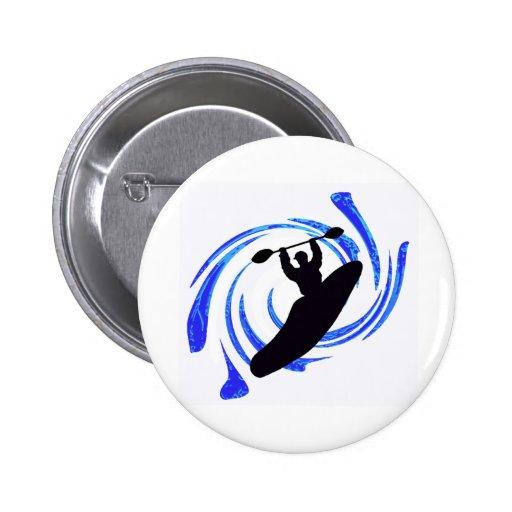 Kayak My Vacations Pinback Button