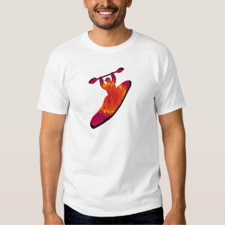 Kayak Nebulae Rising Tshirt