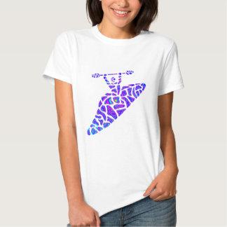 Kayak Nebulae Stars T Shirts