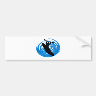 Kayak New Style Bumper Sticker