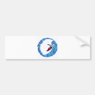 kayak Oahu dreams Car Bumper Sticker