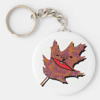 Kayak Oak Runs Basic Round Button Key Ring