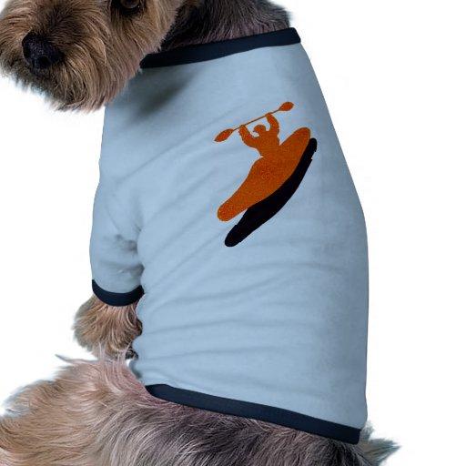 Kayak orange blaster pet clothes