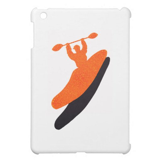 Kayak orange blaster case for the iPad mini