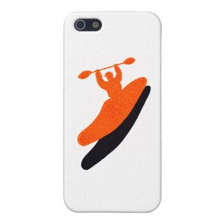 Kayak orange blaster case for iPhone 5