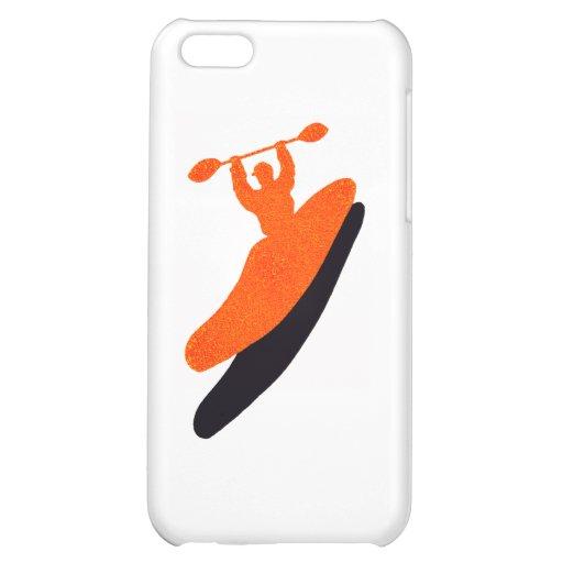 Kayak orange blaster iPhone 5C cover