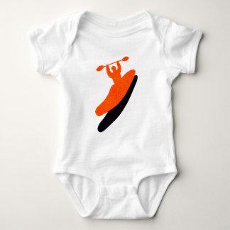Kayak orange blaster t shirt