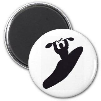 kayak paddle bending 6 cm round magnet
