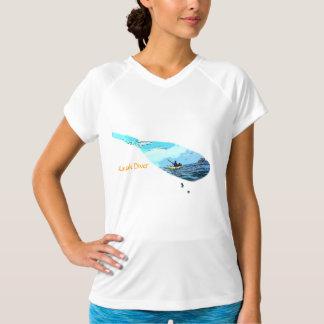 Kayak Paddle Graphic Novel T-Shirt