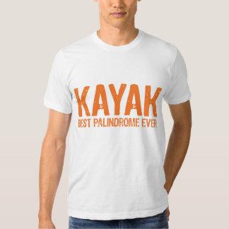 Kayak Palindrome Shirt