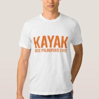 Kayak Palindrome T Shirt