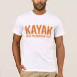 Kayak Palindrome T-Shirt