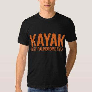 Kayak Palindrome Tshirt