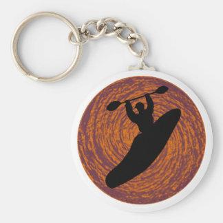 Kayak Rio Chama Basic Round Button Key Ring