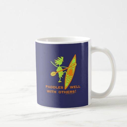 Kayak Shirt, Kayak Gift, Bumper Sticker and more! Mug