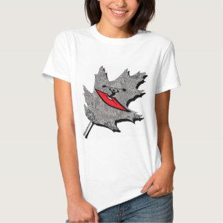kayak silver dew tshirt