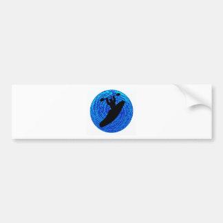 Kayak Soulful Flows Bumper Sticker