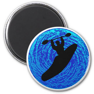 Kayak Soulful Flows Magnet