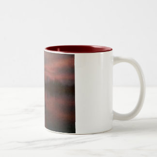 Kayak Sunset Impressionist Mug