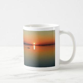 Kayak Sunset Mug