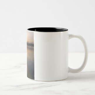 Kayak Sunset Watercolor Mug