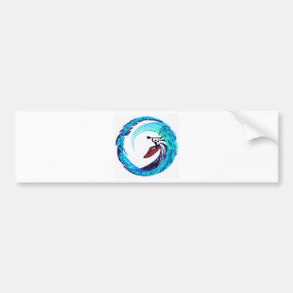 Kayak Surf Patrol Bumper Sticker