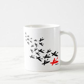 Kayak Swarm Basic White Mug