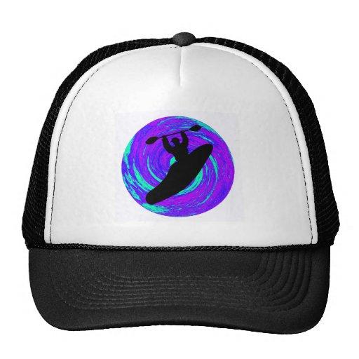 Kayak The circle Trucker Hats