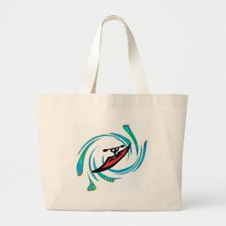 Kayak The Gauley Jumbo Tote Bag