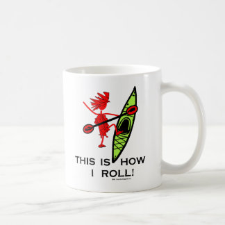 Kayak: This Is How I Roll! Classic White Coffee Mug