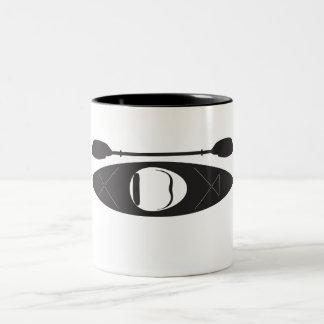 Kayak Two-Tone Coffee Mug