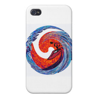 Kayak Vibes Ongoing Cases For iPhone 4