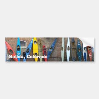 Kayak Wall Bumper Sticker