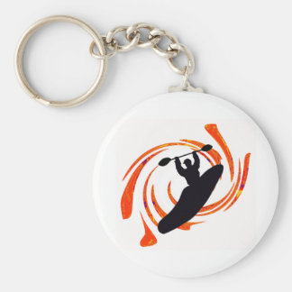 kayak Waters Rising Key Ring