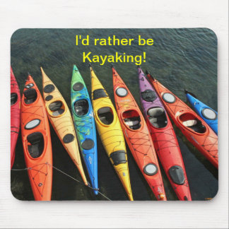 Kayak World Mouse Pad