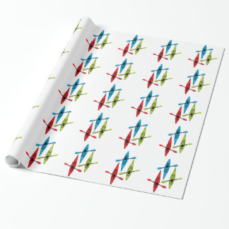 kayak wrapping paper