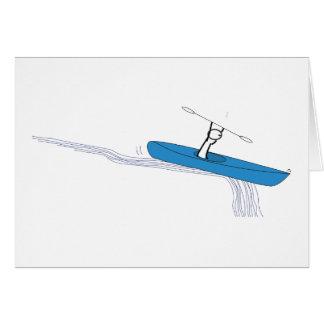Kayaker Birthday Card