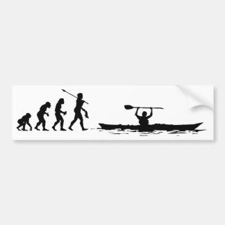 Kayaker Bumper Sticker