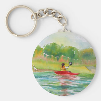 Kayaker Key Chain for the Kayak Lover