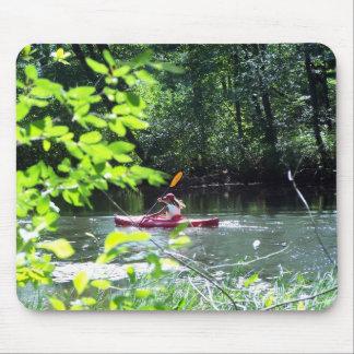 Kayaker Mouse Mat
