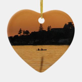 Kayakers Christmas Ornament