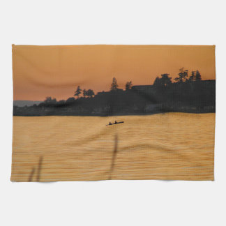 Kayakers Tea Towel